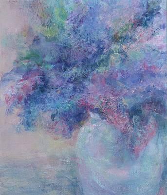 Lilacs Art Print by Laurie VanBalen