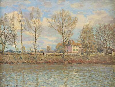 Grande Painting - Ile De La Grande Jatte, Neuilly Sur Seine by Alfred Sisley
