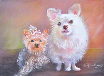 Painting - Lili And Tenti by Patricia Schneider Mitchell