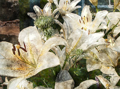 Photograph - Lilies For Easter by Claire Bull