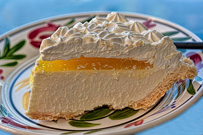 Passion Fruit Photograph - Lilikoi Cheese Pie by Dan McManus