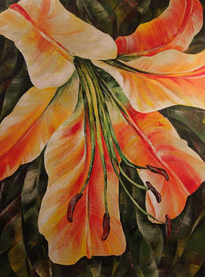 Painting - Lilium by Natasha Denger
