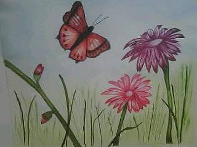 Painting - Lillies Painting by Valorie Cross
