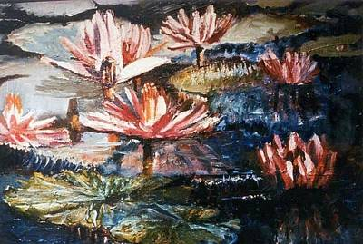 Painting - Lillies by Patricia Trudeau