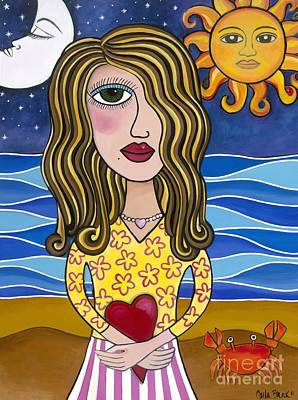Painting - Lilly Loves Florida by Carla Bank
