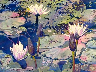 Painting - Lilly Pond by Daydre Hamilton