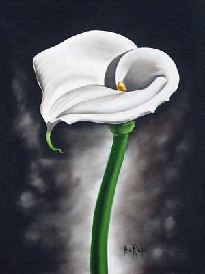 Lily 2 Art Print by Ilse Kleyn