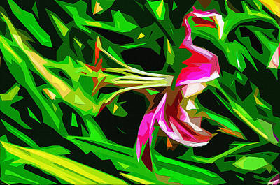 Stamen Digital Art - Lily by Brian Stevens