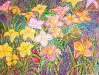 Lily Glow Art Print by Kendall Kessler