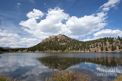 Photograph - Lily Lake Relection by Kay Pickens