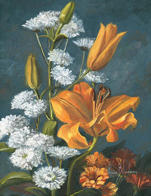 Painting - Lily by Lucie Bilodeau