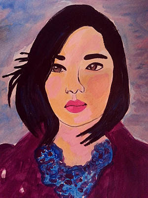 Painting - Lily by Nikki Dalton