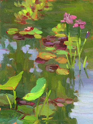Painting - Lily Pond by Diane McClary