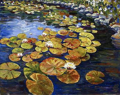 Painting - Lily Pond by Ingrid Dohm
