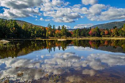 Photograph - Lily Pond On Kancamagus Highway - New Hampshire by Jatinkumar Thakkar
