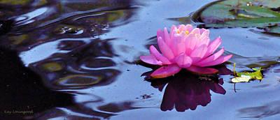 Photograph - Lily Reflection by Kay Lovingood