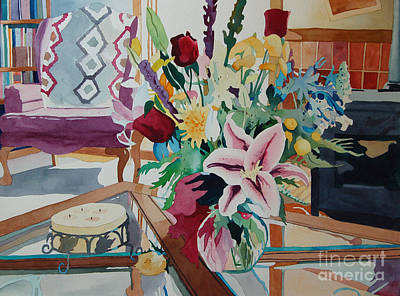 Painting - Lily Still Life by Terry Holliday