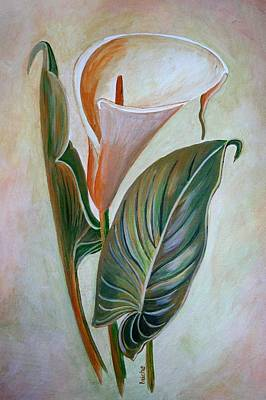 Painting - Lily by Taiche Acrylic Art