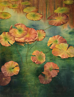 Painting - Lilypads by Johanna Axelrod
