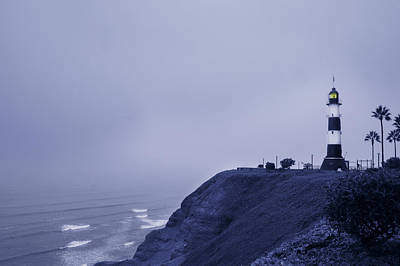 Photograph - Lima Lighthouse by Mary Jo Allen
