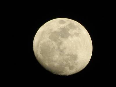 Photograph - L'image De La Lune 3 by George Pedro