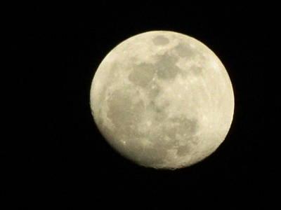 Photograph - L'image De La Lune 4 by George Pedro