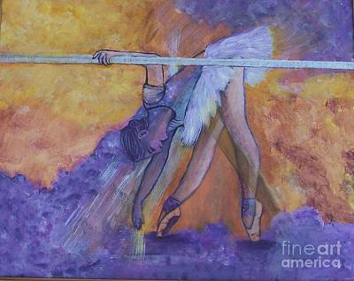 Painting - Limbering Up by Lucia Grilletto