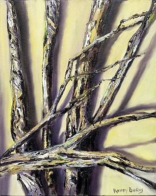 Painting - Limbs Found After The Tornado by Randol Burns