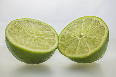 Lime Food Macro 2 Art Print by David Haskett