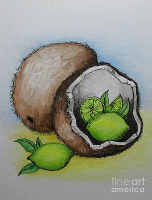 Painting - Lime In The Coconut by Catherine Howley