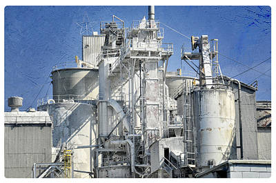 Photograph - Lime Industrial Plant by Davina Washington