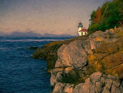 Lime Kiln Point Art Print