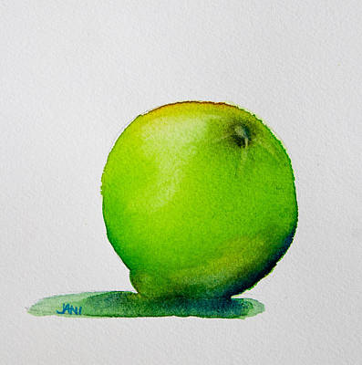 Painting - Lime Study by Jani Freimann