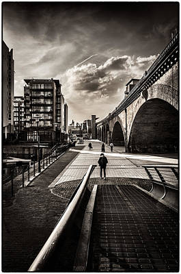 Photograph - Limehouse Basin Pathway by Lenny Carter