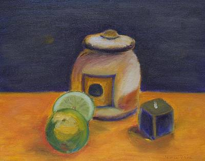 Painting - Limes by Jamie Frier