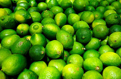 Photograph - Limes by Robert Meyers-Lussier