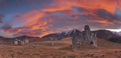 Photograph - Limestone Boulders And Craigieburn by Colin Monteath