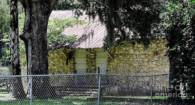 Photograph - Limestone Building 1 by D Hackett