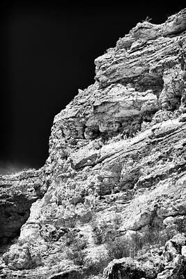 Photograph - Limestone by John Rizzuto