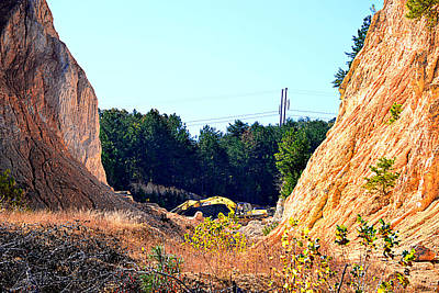Photograph - Limestone Quarry by Marilyn Holkham