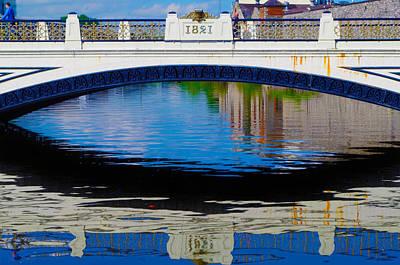 Photograph - Sean Heuston Dublin Bridge by Sharon Popek