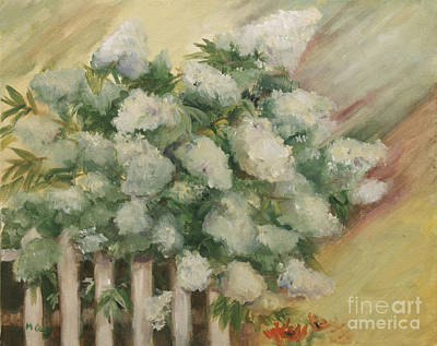 Limelight Hydrangea Art Print by Marge Casey