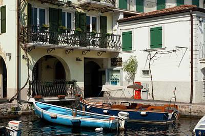 Limone Del Garda, Lago Di Garda Art Print by Sergio Pitamitz