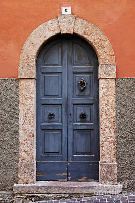 Photograph - Limone Door by Brian Jannsen