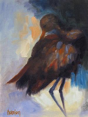 Painting - Limpkin by Susan Hanlon
