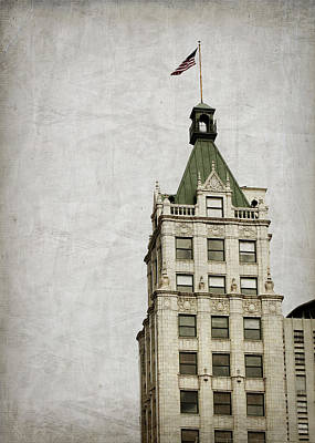 Lincoln American Tower Art Print by Suzanne Barber