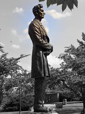 Lincoln At Lytle Park Art Print