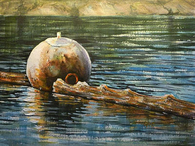 Painting - Lincoln Bouy by Lynne Haines