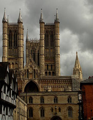 Photograph - Lincoln Cathedral #2 by Chris Cox