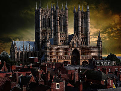 Lincoln Cathedral Art Print by Martin Billings